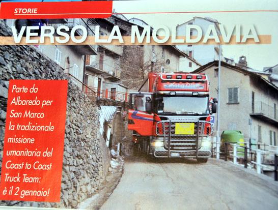 "Trasporto Commerciale ""Verso la Moldavia"""