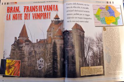 """Suv & Fuoristrada - """"Bran, Transilvania la notte dei Vampiri """""""