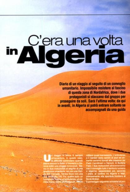 Motociclismo - C'era Una Volta In Algeria (Algeria)