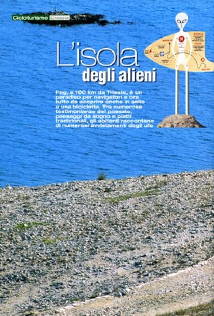 Ciclismo - Pag L'isola Degli Alieni (Croazia)