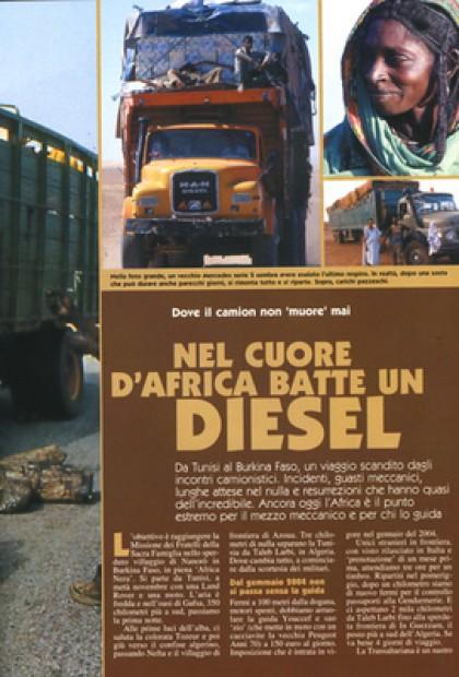 Vado E Torno - Nel Cuore Dell'africa Batte Un Diesel (Africa)