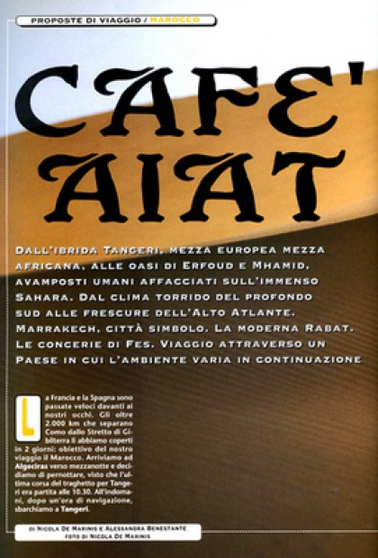 Speciale Motociclismo - Cafè Aiat