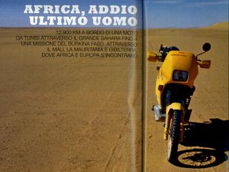 "Euro Moto ""Addio Ultimo Uomo"" .Foto e testo Nicola De Marinis"