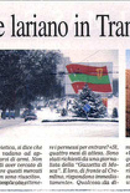 De Marinis reportage Lariano in Transnistria