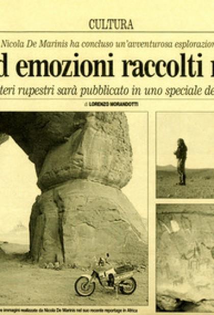 Il Corriere - Graffiti Ed Emozioni Raccolti Nel Sahara (Libia) cultura