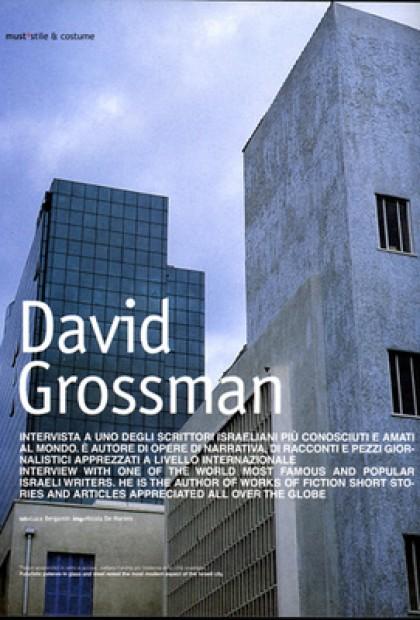 Must - David Grossman (Israele Tel Aviv)