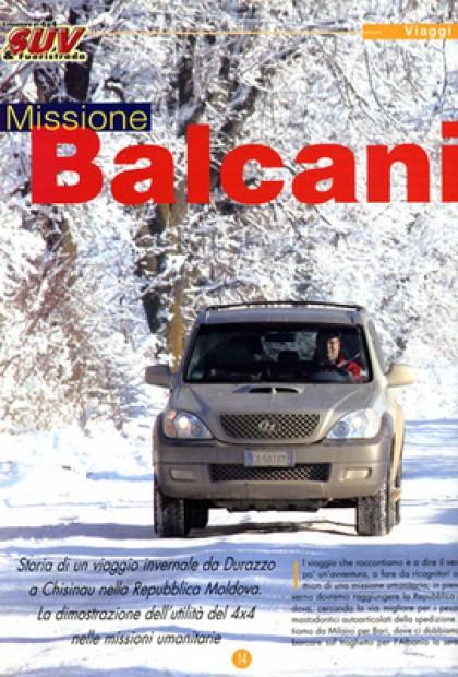 Suv & Fuoristrada - Missione Balcani (Albania/Moldavia)