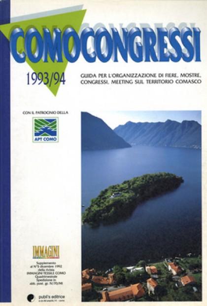 Fotografie Aeree Del Lago Di Como Per L'associazione Provinciale Turismo Di Como 1993-1994 Como Congressi - Publi's Editore Como