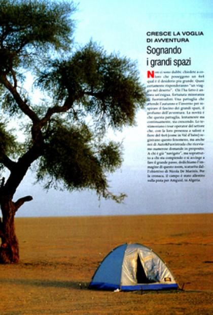 Auto & Fuotristrada - Avventura Sognando I Grandi Spazi (Algeria) Foto
