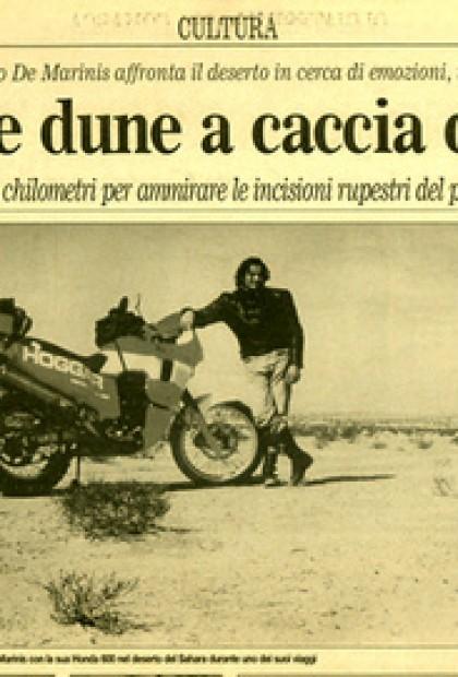 Il Corriere - Tra Sole E Dune A Caccia Di Graffiti - Libia ( Cultura)