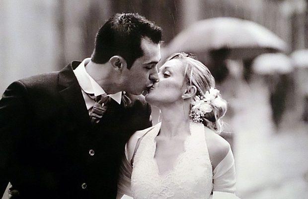 Foto di matrimonio stile reportage anni 80' 90' Como 1999 ph. © Nicola De Marinis