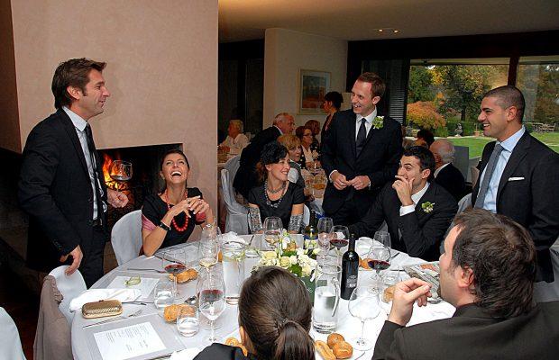 Foto di matrimonio stile reportage a Villa Valentina a Tradate