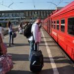 la stazione ferroviaria Paveletskaja che collega l'aeroporto Domodedovo a Mosca , Russia , Europa|the train station that connects the Domodedovo Airport in Moscow, Russia, Europe