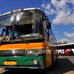 un bus nella stazione a Ejaterniburg, asia, russia, siberia |a bus station in Ekaterniburg, asia, russia, siberia