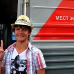 un giovane passeggero della transiberiana, si offre per un ritratto , asia, russia, siberia |a young passenger on the Trans-Siberian, it provides for a portrait, asia, russia, siberia