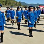 corea del nord, la banda militare nazionale femminile ph. © Nicola De Marinis