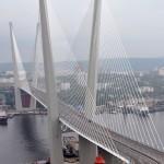 il ponte sulla baia a Vladivostok , asia, russia, |the Bay Bridge in Vladivostok, asia, russia,