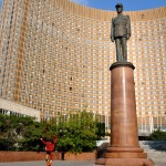 l'hotel Cosmos, a mosca, russia, europa |the Hotel Cosmos in Moscow, Russia, Europe