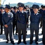 corea del nord, personale delle ferrovie Nord Coreane in uniforme ph. © Nicola De Marinis