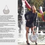 Brand Lacre Bags Location Piazzale Cadorna Milano ph.© Nicola De Marinis / Model Katerina