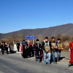 Georgia una processione Ortodossa nella regione della Kakhetia sul confine con l'Azerbaijan Georgia Orthodox procession in the Kakheti region on the border with Azerbaijan ph © Nicola De Marinis