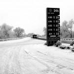 Ucraina stazione di rifornimento sui Carpazi Ukraine gas station in the Carpathians ph © Nicola De Marinis