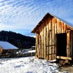 Georgia abitazioni in legno sul Caucaso Centrale Georgia wooden houses on the Central Caucasus ph © Nicola De Marinis