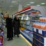Transnistria l'interno di un supermercato della catena Sheriff a Tiraspol Transnistria the interior of a supermarket chain Sheriff Tiraspol Ph © Nicola De Marinis