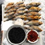 Transnistria, pesci congelati al mercato di Tiraspol ph.© Nicola De Marinis / Transnistria, frozen fish market in Tiraspol ph. © Nicola De Marinis