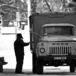 Il camion che trasporta il pane per il fabbisogno dei bambini e del personale dell'istituto The truck carrying the bread for the needs of the children and staff of the institute ph © Nicola De Marinis
