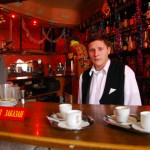 Transnistria un giovane barmen in un caffè del centro di Tiraspol Transnistria, a young barmen in a bar in the center of Tiraspol ph © Nicola De Marinis