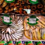 Transdnistria banco del pesce di un supermercato della Sheriff a Tiraspol Transnistria fish counter of a supermarket of Sheriff Tiraspol ph © Nicola De Marinis
