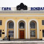 Transnistria la stazione ferroviaria di Tiraspol Transnistria the railway station in Tiraspol ph © Nicola De Marinis