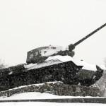 Transnistria,un carroarmato in disuso,oggi monumernto alla guerra civile del 1991 / Transnistria,a tank into disuse,today the monument to the Civil War of 1991 Ph © Nicola De Marinis