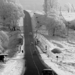 un tratto di strada sui Monti Carpazi in Ucraiana a stretch of road in the Carpathian Mountains Ukraine ph © Nicola De Marinis