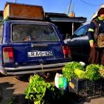 Georgia Caucaso una donna vende ortaggi al mercato di tblisi Georgia Caucasus a woman sells vegetables at the market in tbilisi ph © Nicola De Marinis
