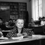 Ucraina Zhitomir bambini durante una lezione a scuola nell'orfanotrofio Ukraine Zhitomir children during a lesson at school in the orphanage ph © Nicola De Marinis