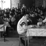 Ucraina Chernobyl Zhitomir ragazzini durante il pasto nella mensa dell'orfanotrofio Ukrainian Chernobyl Zhitomir boys during a meal in the cafeteria of the orphanage ph © Nicola De Marinis