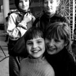 Ucraina Chernobyl Zhitomir ritratti ai ragazzini dell'orfanotrofio Ukrainian Chernobyl Zhitomir portraits boys orphanage ph © Nicola De Marinis