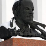Transnistria,il busto di Lenin davanti al palazzo presidenziale a Tiraspol Ph © Nicola De Marinis
