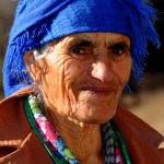 Georgia Caucasus Central portrait of elderly woman ph © Nicola De Marinis