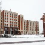Transnistria, il palazzo presidenziale a Tiraspol Transnistria,the Presidential Palace in Tiraspol Ph © Nicola De Marinis