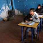 Georgia bambini nella scuola del villaggio di Tabatskuri nel Caucaso Centrale Georgia children in the village school Tabatskuri Caucasus Central ph © Nicola De Marinis
