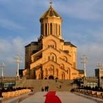 Georgia Cattedrale della Santissima Trinità a Tblisi Georgia Holy Trinity Cathedral in Tbilisi ph © Nicola De Marinis