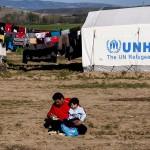 Idomeni, confine Grecia Macedonia, profughi