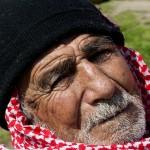 profugo iracheno nell'area di servizio eko lungo la strada per idomeni in grecia