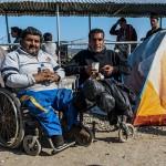 profughi siriani diversamente abili nel campo allestito ad idomeni in greacia sul confine con la macedonia