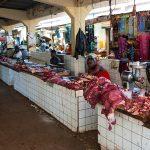 il mercato coperto a yaoundè in camerun