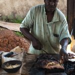street food a yaoundè in camerun