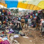 il mercato a yaoundè in camerun